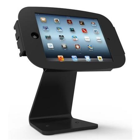 Maclocks Table kiosk 360' rotate and tilt with iPad Space Enclosure BLACK. Fits iPad 2 3 4 & iPad Ai