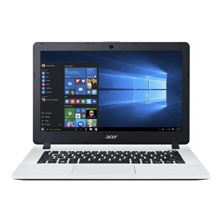 "A1/NX.G12EK.012 Refurbished ACER Aspire ES1-331-C6CB 13.3"" Intel Celeron N3050 1.6GHz 4GB 1TB Windows 10 Laptop in White"