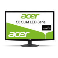 "Refurbished Acer 21.5"" S220HQLBbid 75Hz LED Monitor"