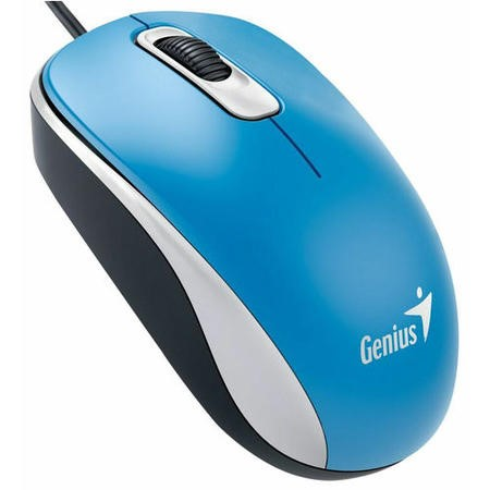 Genius DX-110 Blue USB Full Size Optical Mouse