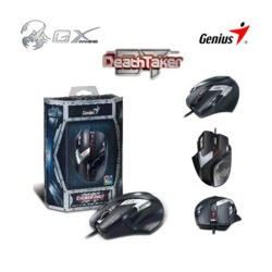 Genius GX Gaming DeathTaker - Professional 9 button gaming mouse