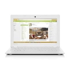 "Refurbished Lenovo 100S-11IBY 11.6"" Intel Atom Z3735 1.33GHz 2GB 32GB Windows 10 Laptop in White"