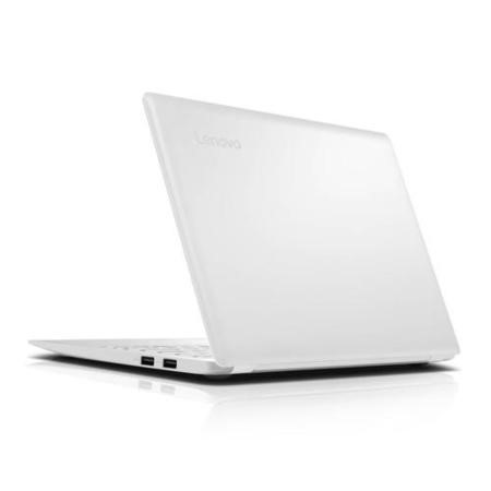 "Refurbished Lenovo 100S-11IBY 11.6"" Intel Atom Z3735 1.33GHz 2GB 32GB SSD Windows 10 Laptop in White"
