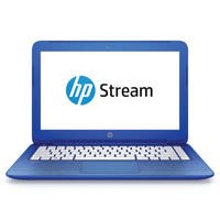 "Refurbished HP Stream 13-c150sa 13.3"" Intel Celeron N3050 1.6GHz 2GB 32GB SSD Windows 10 Laptop in Blue"