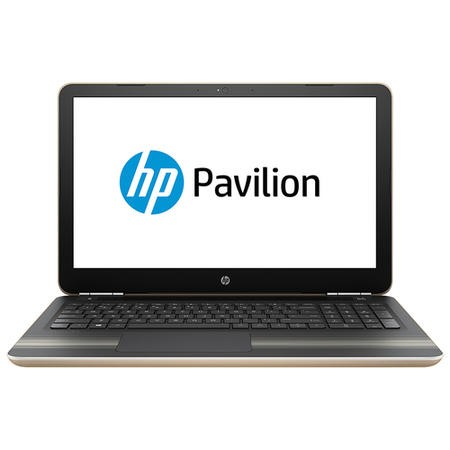 "Refurbished HP 15-au068sa 15.6"" Intel Core i3-6100 2.3GHz 8GB 1TB Windows 10 Laptop in Gold"