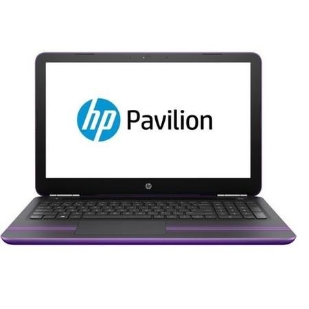 "A1/W9V59EA Refurbished HP Pavilion 15-au070sa 15.6"" Intel Core i3-6100 2.3GHz 8GB 1TB DVD-RW Windows 10 Laptop in Purple"