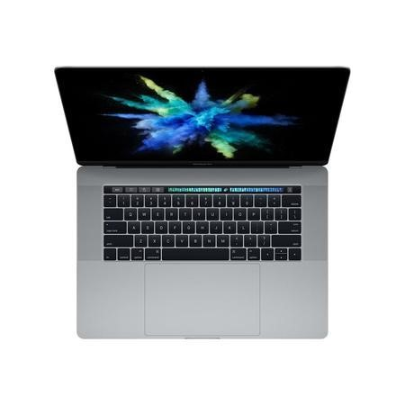 "A1/MLH42B/A Refurbished Apple MacBook Pro 15"" Intel Core i7 2.7GHz 16GB 512GB SSD OS X 10.12 Sierra with Touch Bar Laptop in Space Grey - 2016"