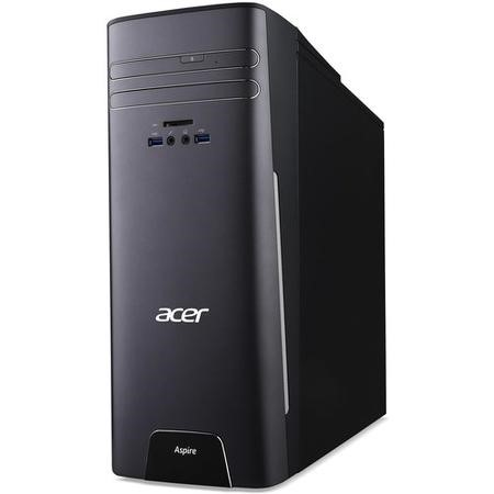 Refurbished Acer Aspire T3-710 Core i7-6700 16GB 1TB + 128GB Windows 10 Tower Desktop