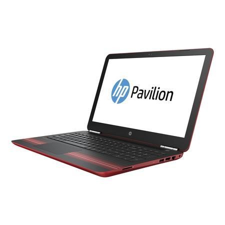 "Refurbished Hp Pavilion 15-au034na 15.6"" Intel Core i3-6100U 2.3GHz 8Gb 1TB Windows 10 laptop in Red"