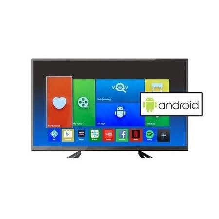GRADE A2 - Light cosmetic damage - electriQ 55 Inch Full HD 1080p Android Smart LED TV with Freeview HD