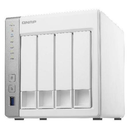 QNAP TS-431+ 8TB 4 x 2TB Seagate Ironwolf 4 Bay Desktop NAS Unit