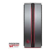 Refurbished HP Omen 870-003na Intel Core i5-6600K 3.5GHz 16GB 2TB + 128GB SSD AMD Radeon R9 390X 8 GB Windows 10 Gaming Desktop