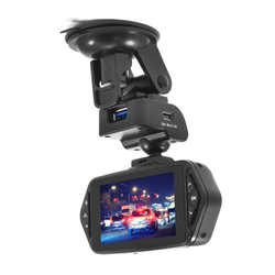 GRADE A2 - Light cosmetic damage - electriQ 1080p Wide 160 Degree Angle View Dash Cam with 2.7 Inch Screen Fast Ambarella Processor