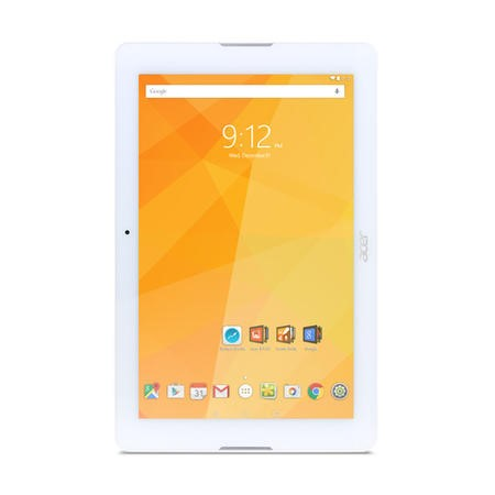 "A1/NT.LBVEE.011 Refurbished Acer Iconia One 10.1"" 16GB Tablet in White"