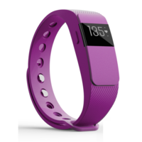 iQ FIT HR 2.0 Activity Fitness Tracker with Heart Rate + Extra Purple Wristband