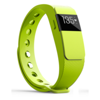 iQ FIT HR 2.0 Activity Fitness Tracker with Heart Rate + Extra Green Wristband