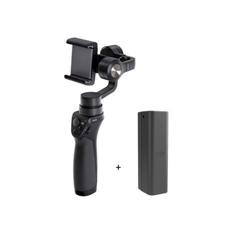 BUN/CP.ZM.000449/69659 DJI Osmo Mobile Handheld 3 Axis Stabilised Gimbal with Extra Battery