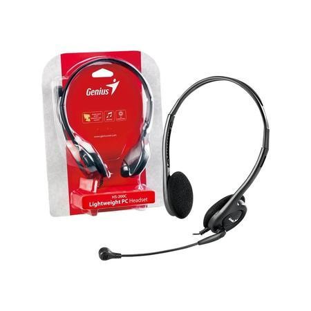 Genius HS-200C Lightweight 3.5mm PC Dual Ear Headset
