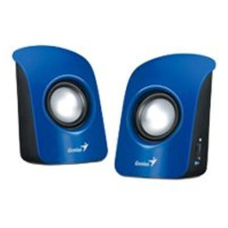 Genius SP-U115 Stereo USB Powered Speakers Blue