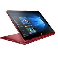 "Refurbished HP Pavilion x360 15-bk062sa 15.6"" Intel Core i3-6100U 2.3GHz 8GB 1TB Touchscreen Convertible Windows 10 Laptop in Red"