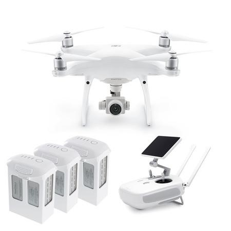 BUN/DJIP4PPLUS/69671 DJI Phantom 4 Pro Plus 4K Camera Drone + Two Extra Batteries
