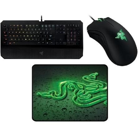 bb6667025c8 Razer Ultimate Bundle - Deathstalker Chroma Keyboard & Deathadder  Essentials Gaming Mouse with FREE Goliath