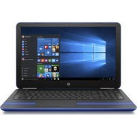 "Refurbished HP Pavilion 15-au071sa 15.6"" Intel Core i3-6100U 2.3GHz 8GB 1TB DVD-RW Windows 10 Laptop in Blue"