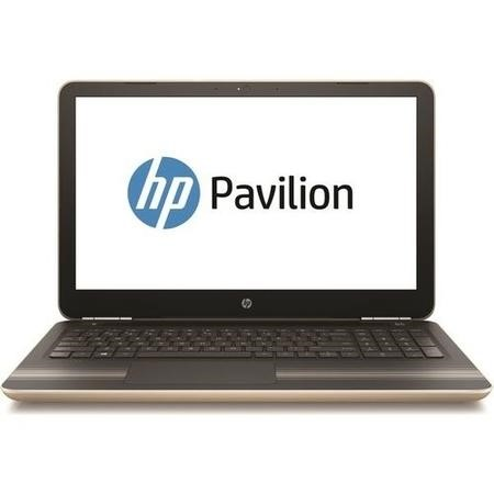 "A1/Y7Y81EA Refurbished HP Pavilion 15-aw084sa 15.6"" AMD A9-9410 2.9GHz 8GB 1TB Windows 10 Laptop in Gold"