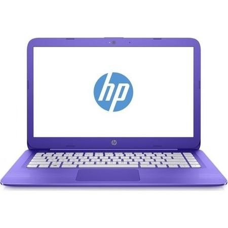 "A1/Z3C76EA Refurbished HP Stream 14-ax053sa 14"" Intel Celeron N3060 1.6GHz 4GB 32GB Windows 10 Laptop in Purple"
