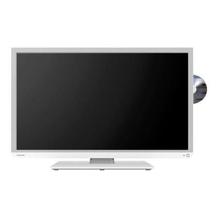 toshiba 32d1334db 32 inch freeview led tv with built in dvd player laptops direct. Black Bedroom Furniture Sets. Home Design Ideas