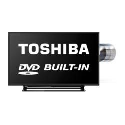 Toshiba 32D1533DB 32 Inch Freeview LED TV with built-in DVD Player