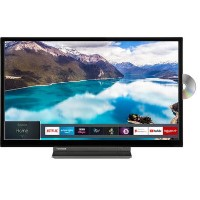 "Toshiba 32WD3A63DB 32"" HD Ready Smart TV with a built in DVD player"