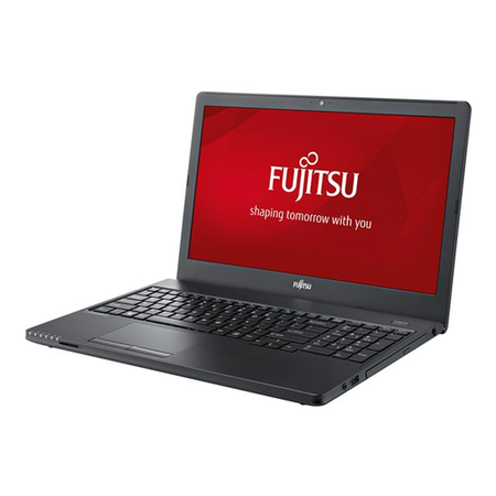 VFY:A5570M25CBGB Fujitsu LifeBook A557 Core i5-7200U 4GB 500GB DVD-RW 15.6 Inch Windows 10 Professional Laptop