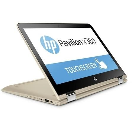 A2/Y6J15EA Refurbished HP Pavilion x360 13-u063sa Intel Core i5-6200U 8GB 128GB 13.3 Inch Touchscreen Convertible Windows 10 Laptop in Gold