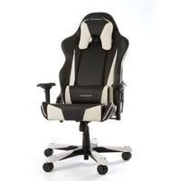 DXRacer Tank Series Gaming Chair in Black/White