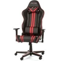 DXRacer Racing Series Gaming Chair in Black with Red Stripes