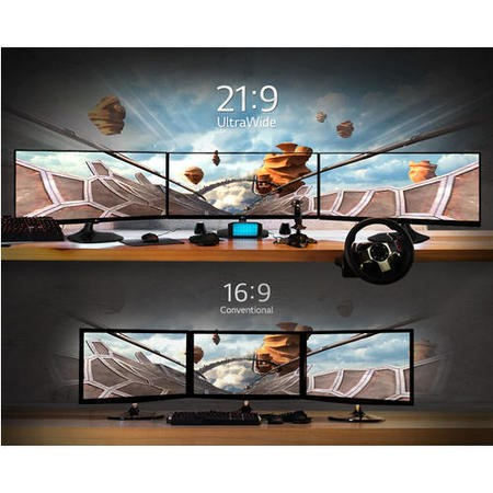 "LG 34"" UltraWide IPS LED 2560x1080 21.9 HDMIx2 Monitor"