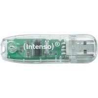 Intenso 32GB Rainbow USB 2.0 Transparent