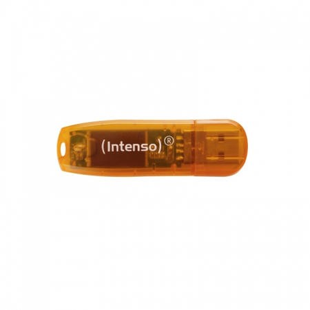 Intenso 64GB Rainbow USB 2.0 Orange