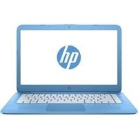 "Refurbished HP Stream 14-ax000na 14"" Intel Celeron N3060 2.48GHz 4GB 32GB eMMC Windows 10 Laptop in Blue"