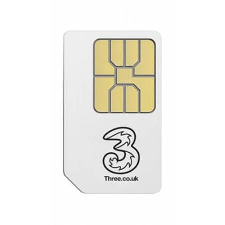 THREE 35065 1GB READY TO GO SIM