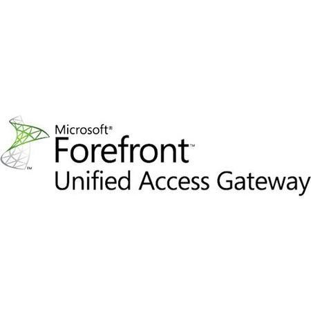 Microsoft® Forefront UAG Server 2010 Sngl Academic OPEN 1 License No Level