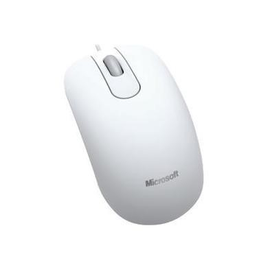 Microsoft Optical Mouse 200 USB for Business - White