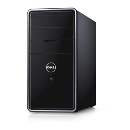 Dell Black Inspiron 3847 Intel Core i3-4130 4GB 500GB DVDRW Windows 8.1 Professional Desktop