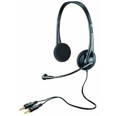 Pantronics Audio 322 Stereo PC Headset Twin 3.5mm