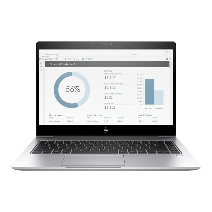 HP EliteBook x360 1030 G3 Core i7-8650U 8GB 512GB 13 3 Inch Touchscreen 2  in 1 Windows 10 Professional Laptop
