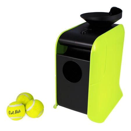 4001013 electriQ Automatic Dog Ball Launcher with Treat Dispenser