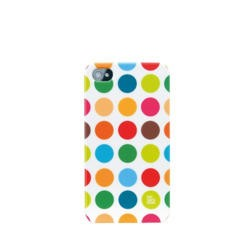 Pat Says Now iPhone 4 Case - Polka Dot