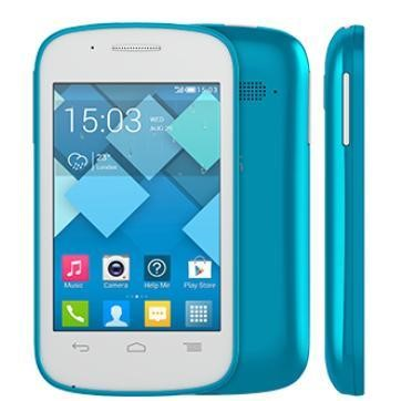 Alcatel 4015X Pop C1 White FreshTurquoise Sim Free Mobile Phone