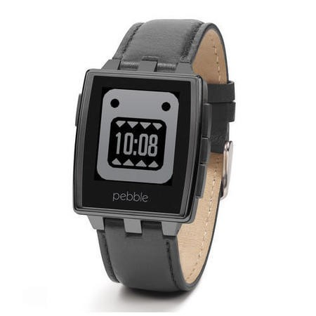 Pebble Steel Smartwatch - Matte Black